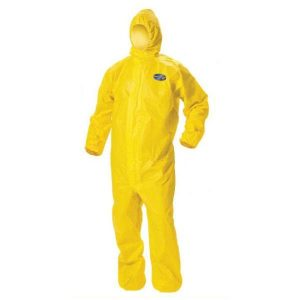 Traje de proteccion personal contra quimicos kleenguard A-70